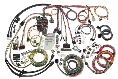 American Autowire Complete Wiring Harness - 1955-56 Chevy on