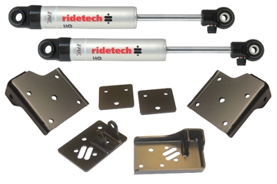 RideTech 55-57 Chevy StreetGrip Staggered Rear Shock Kit