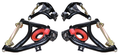 Woody's Hot Rodz 1955-57 Chevy Tubular Upper & Lower Control Arms Set