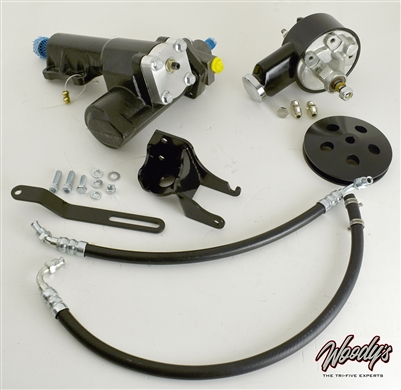 Woody's Hot Rodz 1955-57 Chevy Power Steering Conversion Kit