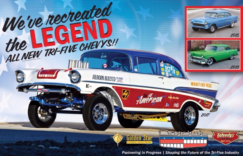 Woody's Hot Rodz Online Store - The Tri-Five Experts