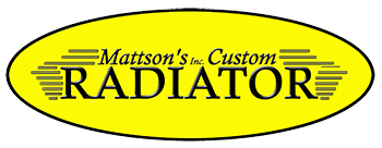 1955-57 Chevrolet Radiators by Mattson's (OS) (TF)